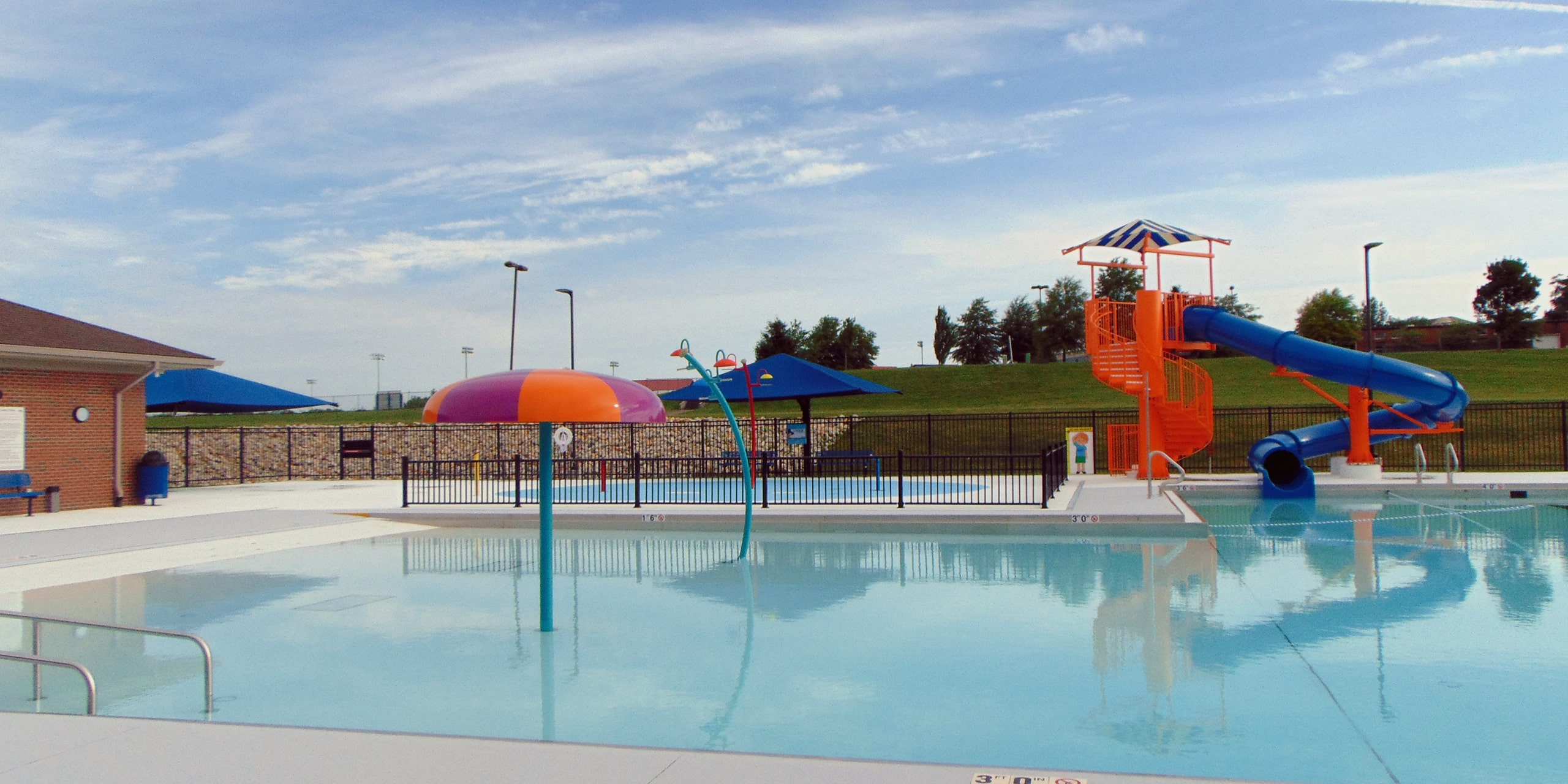 Pool Opening Saturday May 29th, closing Monday September 6th.    Dates Subject To Change.